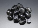 Obsidian schwarz Trommelstein