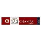 GOLDEN Nag Champa Räucherstäbchen 15 g