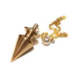 Pendel Triangel aus Messing 22 Gramm