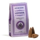 Ayurvedische Rückfluss Räucherkegel Lavendel 10 Stück