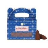 Sataya Rückfluss Räucherkegel Nag Champa 24 Stück