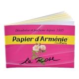 Papier d`Arménie Rose