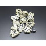 Dalmatiner Jaspis Trommelstein